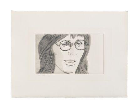 Alex Katz, 'June Ekman's Class: Naomi', 1972