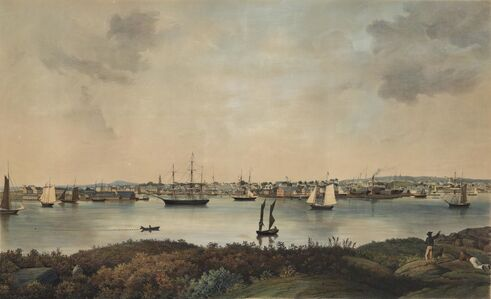 Fitz Henry Lane, 'View of Gloucester, Mass.', ca. 1855