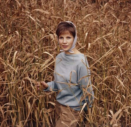 CLAIRE AHO, 'Carita in the Field', Early 1960´s