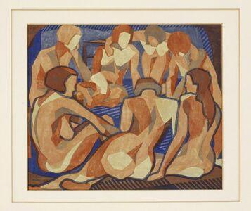 Lill Tschudi, 'Nudes', 1933