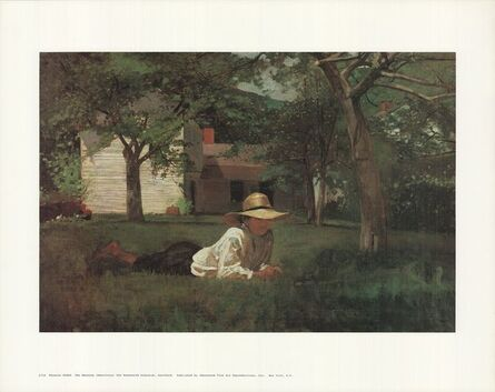 Winslow Homer, 'The Nooning', (Date unknown)