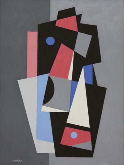 Hugo Marziani, 'abstracto a', 1959