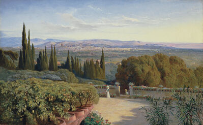 Edward Lear, 'View of Florence from Villa Petraja'