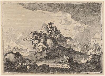 Francesco Casanova, 'Cavalry Battle', ca. 1774