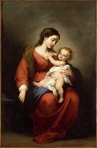 Bartolomé Esteban Murillo, 'Virgin and Child', ca. 1670–1672