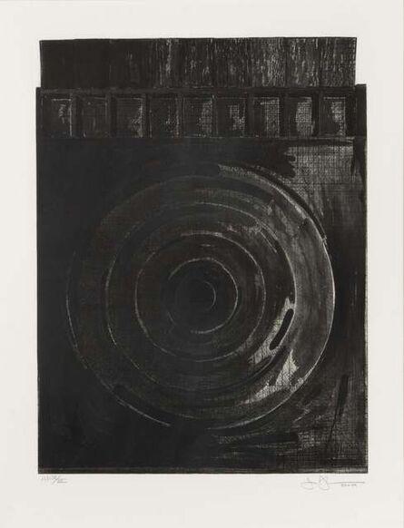 Jasper Johns, 'Target with Plaster Casts (Black & White)  ', 1980-1989