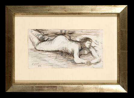 Henry Moore, 'Reclining Figure', 1980