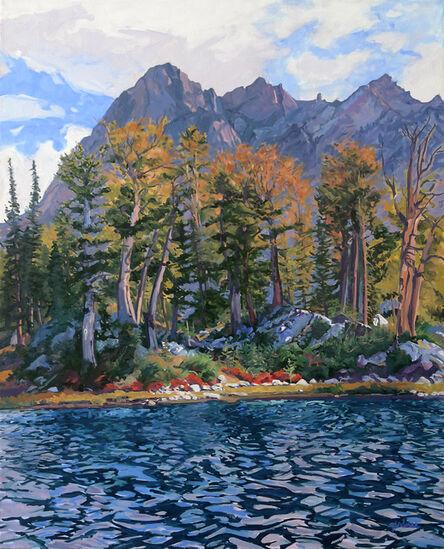 Sheila Gardner, 'Wind on the Water (Alice Lake)', 2004