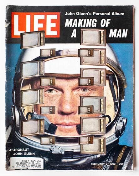 Dennis Koch, 'LIFE Cutout No. 143 (February 2, 1962, John Glenn TV)', 2018