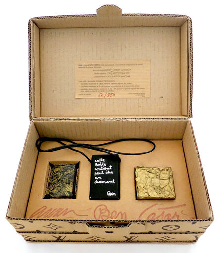 Ben Vautier, 'Arman - Ben - Cesar, Malle A Bijoux Louis Vuitton (Louis Vuitton Jewelry Box) ', 1989