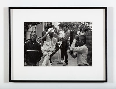 Martine Barrat, 'You have to be born to have any type of title (Harlem)', 1984