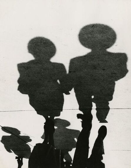 Marvin E. Newman, 'Couple, Shadow Series, Chicago', 1951