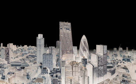 André Lichtenberg, 'City of London with Fog, 2014 (Within Series)', 2014