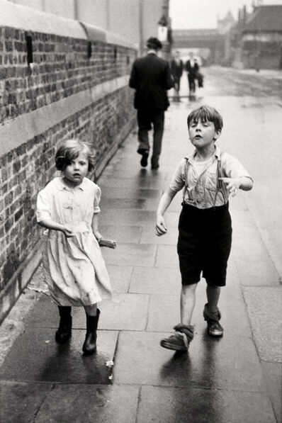 Thurston Hopkins, 'From A Story On Children Of The Pavements, Battersea', 1954