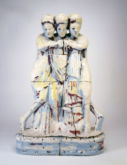 Viola Frey, 'Three Graces', 1979-1981