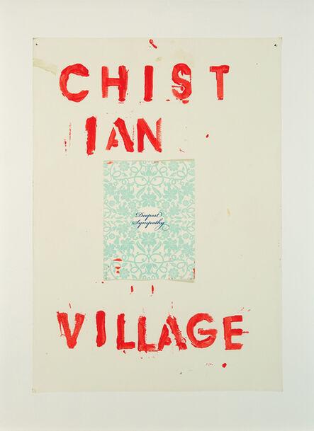 Lyle Ashton Harris, 'Christian Village', 2014