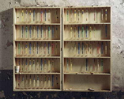 Christopher Payne, 'Patient Toothbrushes, Hudson River State  Hospital, Poughkeepsie, NY', 2005
