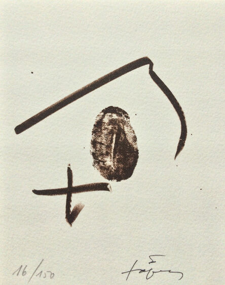 Antoni Tàpies, 'Untitled', 2002