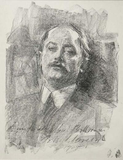 John Singer Sargent, 'Portrait of Albert de Belleroche', 1905