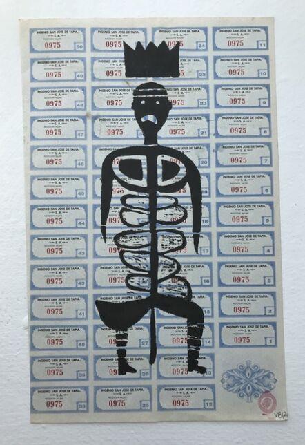 Victoria Behm, 'Blue Skeleton', 2012