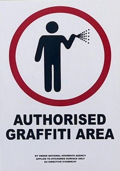 Banksy, 'Authorised Graffiti Area', 2004
