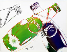 Andy Warhol, 'Perrier (White)', 1983