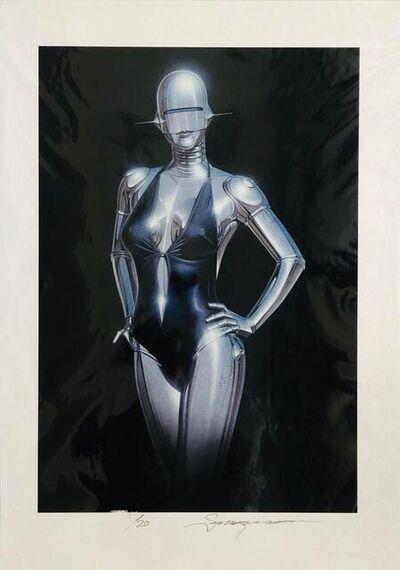 Hajime Sorayama, 'Black Background', 2019