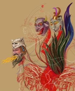 Khadim Ali, 'The Other Gods V', 2020
