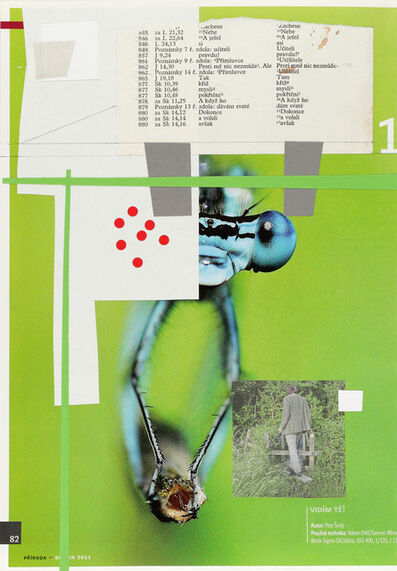 Jiří Kovanda, 'Untitled (I see you!)', 2014