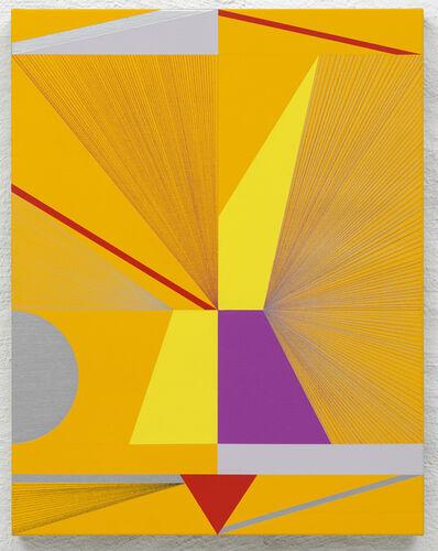 Lothar Götz, 'Figurine-Yellow', 2016