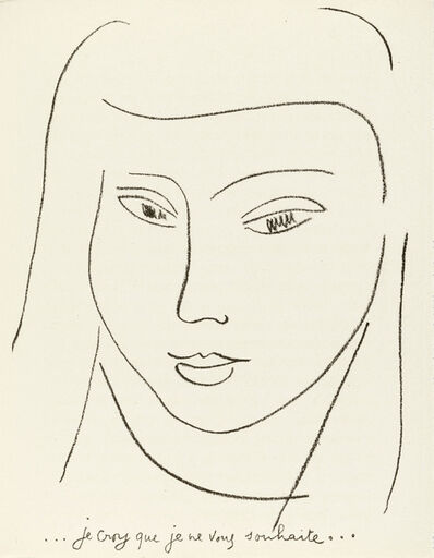 Henri Matisse, 'Les Lettres Portugaises, by Marianna Alcaforado, deluxe edition with extra suite  (Duthuit 15)', 1946