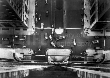 Margaret Bourke-White, 'Bird's Eye View of Manhattan for Erwin, Wasey & Co', 1934