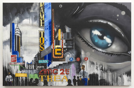 Chris DAZE Ellis, 'Midtown', 2016