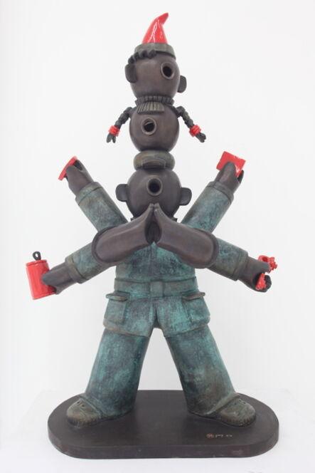 Jiang Shuo 蒋朔, '三头六臂; Multitalented Boy', 2008