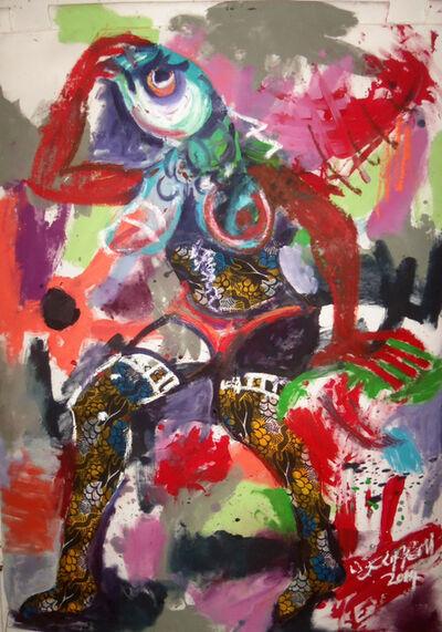 Wycliffe Mundopa, 'Fishing for Love 2', 2014