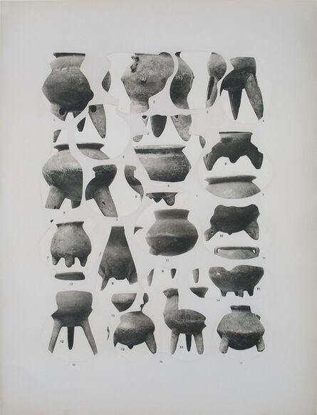 Asier Mendizabal, 'Geodesia y antropometria (vasijas)', 2016