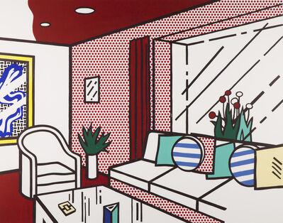 Roy Lichtenstein, 'Living Room', 1990