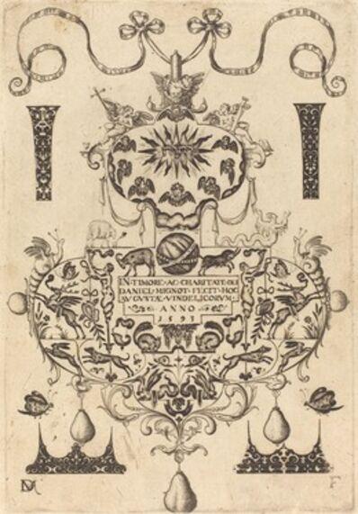 Daniel Mignot, 'Title Page: Large Pendant', 1593