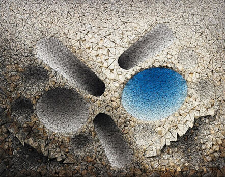 Chun Kwang Young, 'Aggregation 11 - AP027 Blue', 2011