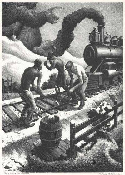 Thomas Hart Benton, 'Ten Pound Hammer (F. 79)', 1967