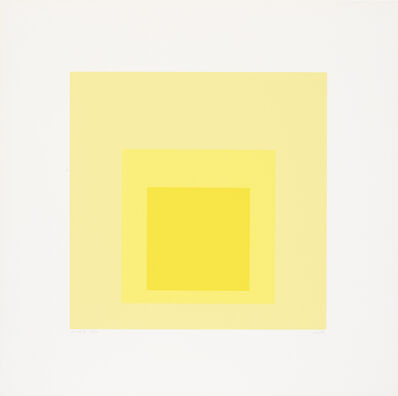 Josef Albers, 'I-S d', 1969