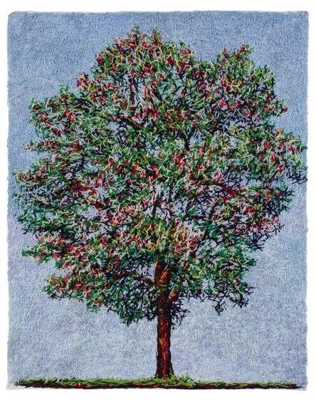 Cristiane Mohallem, 'Árvore com frutos vermelhos', 2014