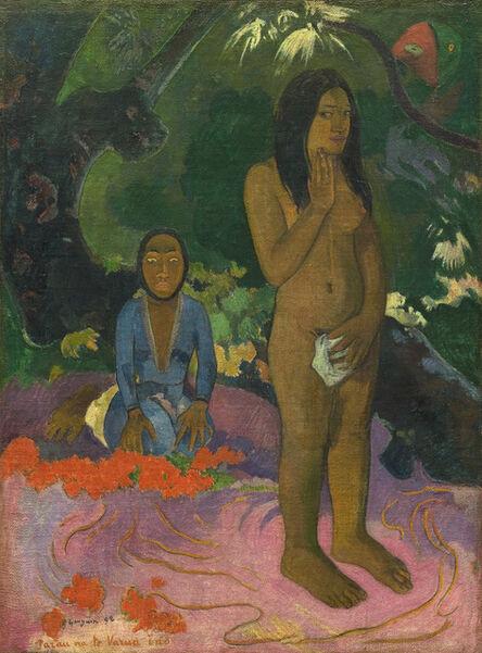 Paul Gauguin, 'Parau na te Varua ino (Words of the Devil)', 1892