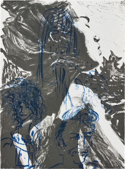 David Salle, 'Theme for an Aztec Moralist', 1983/84