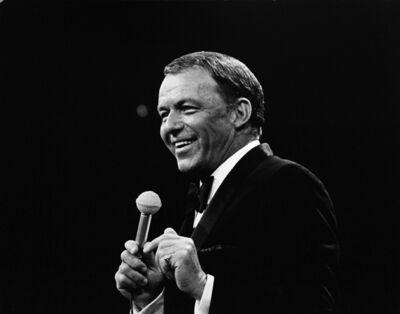 Murray Garrett, 'Sinatra performing at his Budweiser special at N.B.C. TV in 1968', 1968