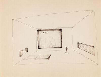Frederick John Kiesler, 'Studies: Art as Architecture of De Stijl', ca. 1925