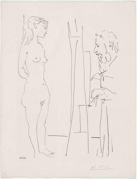 Pablo Picasso, 'La Pose Nue', ca. 1954