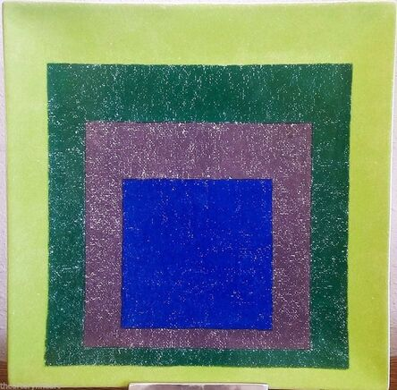 Josef Albers, 'Study for Homage to the Square', 1999