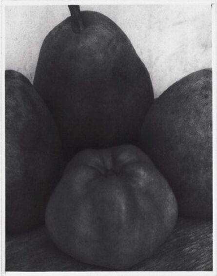 Edward Steichen, 'Three Pears and an Apple, France', ca. 1921