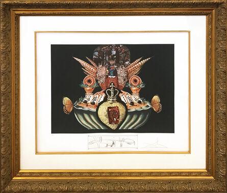 Salvador Dalí, 'LES CHAIRS MONARCHIQUES', 1971